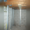Powerbrace Installation for Bowing Basement Wall- Chester, Ok