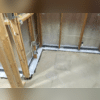ThermalDry® Radiant Wall System and the WaterGuard® Drainage System Before Cement