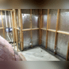 ThermalDry® Radiant Wall System and the WaterGuard® Drainage System After Cement
