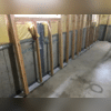 WellDuct® Window Well Track and WaterGuard® Before Cement