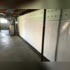 CleanSpace® Vapor Barrier Tied into the WaterGuard® Drainage System Below