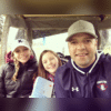 Coaching KWHS Golf match with my girls.