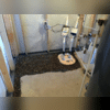 CleanSpace®, WaterGuard®, and TripleSafe™Sump Pump System Before Cement