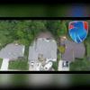 Aerial Photo of New Roof in St. Charles MO