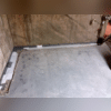 WaterGuard® Below-Floor Drain System Before Cement is Poured