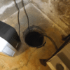Here is a view of the existing Sump system to be replaced with a SuperSump®