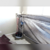 After Waterproofing System Installation (Sump Location)