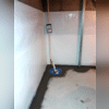 Cleanspace, Sump pump, Discharge line