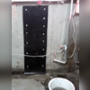 The Well Duct establishes a drain from the window well to the Waterguard drainage system