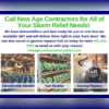 Call New Age Contractors For All Of Your Storm Relief Needs!