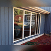 This Shelton, CT, homeowner called us to replace these two picture windows. We spent some time talking with them to discuss their goals and options.  They chose a replacement window that did not require any alterations to the exterior of the home.