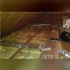 In this Middlebury home, our amazing team performed a traditional air sealing and insulation job with our TruSoft cellulose insulation. Our TruSoft insulation is made from recycled newspaper and is specially treated to become fire, water and pest resistant!