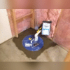 The SuperLiner Sump Liner is large enough to keep thesump pump working properly without turning on and off repeatedly, but not so large that your liner goes too deep, making your sump pump wear out prematurely as it pumps out unnecessary water