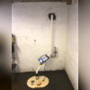 This homeowner's basement will no longer have flooding issues with the installation of the SuperSump Plus System!