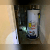 There was water damage from repeated basement flooding.