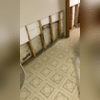 The basement has mildew and water damage from repeated flooding.