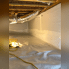 The Fortress Team installed a CleanSpace Encapsulation to keep the crawlspace clean and dry.