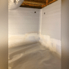 The Fortress Team installed Foamax Insulation on the walls to keep the crawlspace from letting heat escape from the house.
