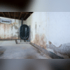 This basement had extensive water damage and a serious mold issue.