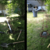Instead of connecting the inner drain to the city drain, and risking water run-off during heavy rains, we still prefer to unload the water outside in the soil away from the foundation.