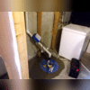 Sump Pump installed by Doug Lacey's Basement Systems