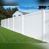 Clean, stylish vinyl fence in the backyard can change the way your home looks today!