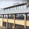 Galvalume Half Round Rain Gutter Installation   Norwalk, CT
