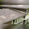 Elegant Musket brown rain gutter system installed in Cos Cob, CT