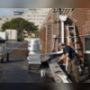 CT Gutter LLC | Gutter Corrections On Commercial Building | Stamford, CT