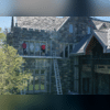 CT GUTTER | Window Cleaning On Historic Stone Mansion | Norwalk, CT