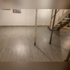 With brand new ThermalDry flooring tiles installed on the basement floor, the floor now will stay at least 5 degrees warmer than the concrete floors ever could. By also not allowing any water vapors to come up through the floor, these tiles create a great combination of waterproofing and warmth to...