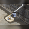 Our sump pump system keeps water out of below-grade spaces