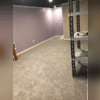 The next step The Basement Guys took was to install carpet. The homeowner chose the color Windy City from the Break-Away Tonel line by Shaw Floors.