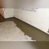 The interior drainage system collects water coming in and drains it into the sump pump to be expelled away from the home.