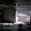 Inside of the garage