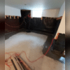 Drainage Matting guides water down to the WaterGuard® Drain System before the sump pump expels it out of the home