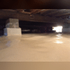 The drainage system and sump pump will drain the ground water and expel it away from the home - keeping things dry.