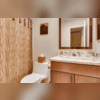 Warm colors with glam finishes