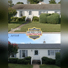 Here is a before and after of a roofing install. Owens Corning Shingle Duration Series: Slatestone Gray.