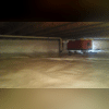 Both spaces received a dehumidifier to help with the moisture issues in the crawl spaces.