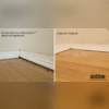 Before and After Lifting an Interior Slab in Amarillo, TX