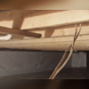 The other issue that needed to be address was the rotting wood. This homeowner needed to have multiple floor joist and girders replaced. First the wood and the space needed to dry out so that we can make the necessary repairs.