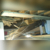 After the wood and crawl space was dried out, we came back out to the property to replace the floor joist and girders. When we returned to the property this is is what we found in the crawl space. The important girder had been do damaged and eventually fell.