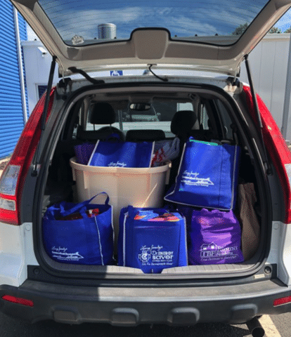 Connecticut Basement Systems recruited Contractor Nation to assist with a Back to School Drive that ...