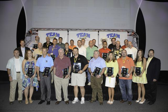 Dry Guys Basement Systems won an award at the 2013 Annual Team Basement Systems Convention.