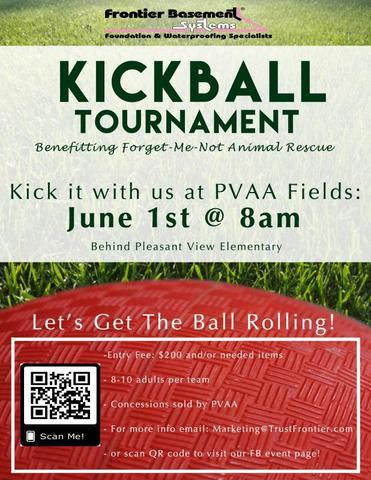 Kickball Tournament Benefitting Forget-Me-Not Animal Rescue - Image 1