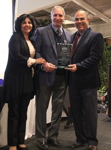 Bill Simone's Healthy Basement Systems received the 2017  New York Contractor of the Year Award from...