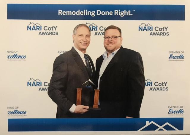 Bill Simone's Healthy Basement Systems received the 2018 Northeast Regional Contractor of the Year A...