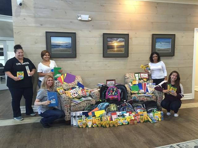 2015 Stuff the Bus a Success for Quality 1st Basement Systems and United Way of Monmouth County - Image 1
