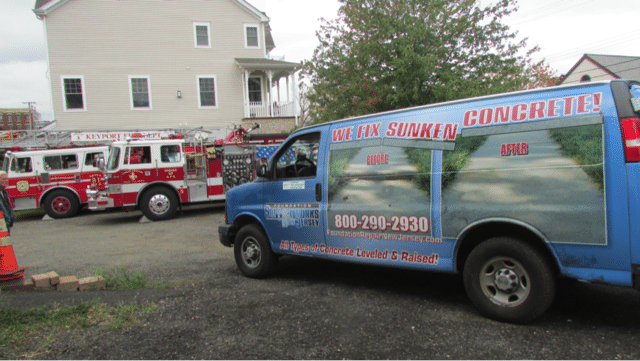Quality 1st Basement Systems Donates Services to Keyport Fire Department - Image 1